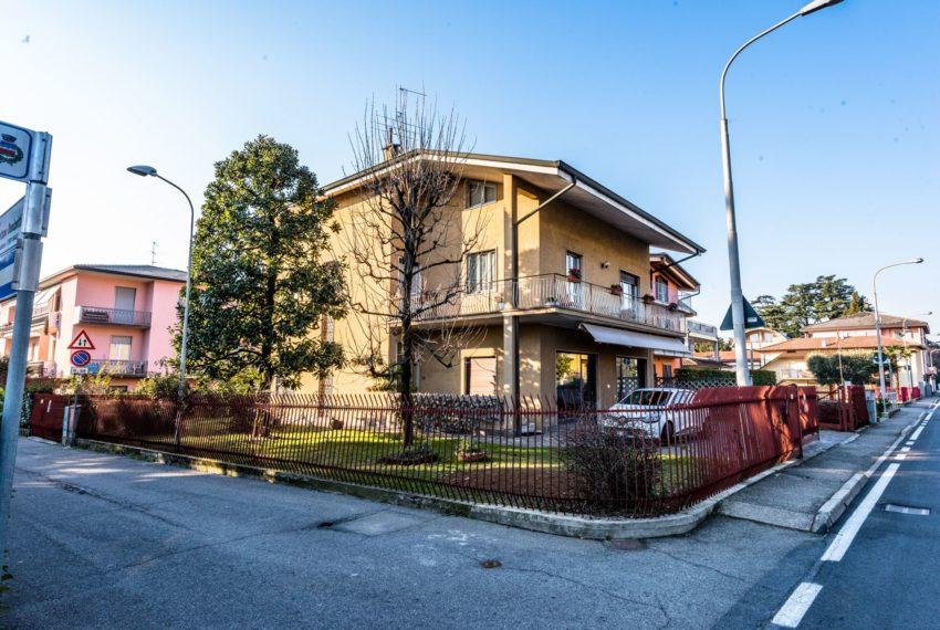 villa facciata M008