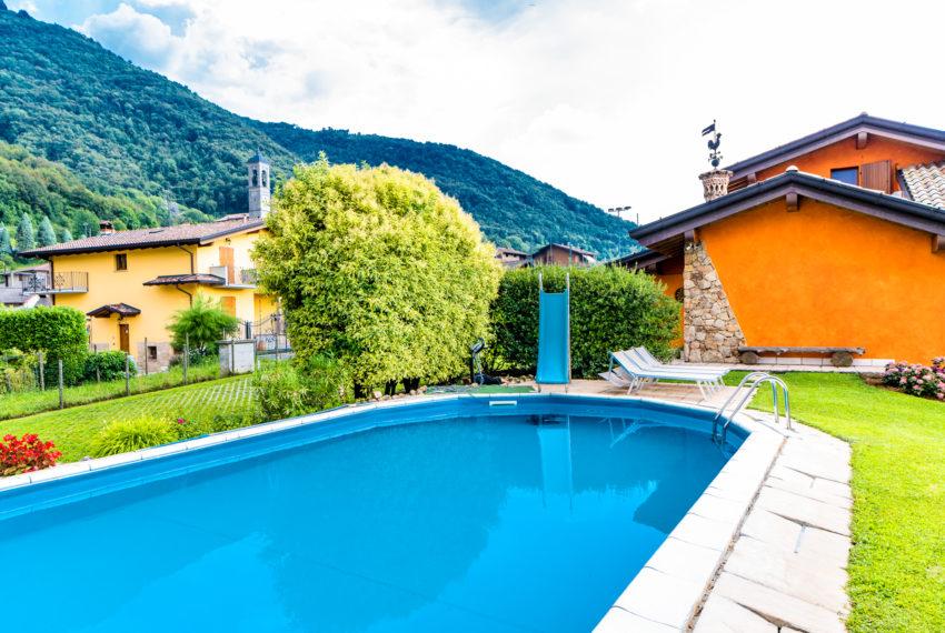 piscina villa singola Albino A060
