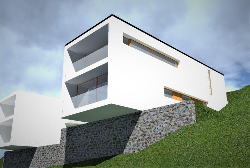 progetto villa A069