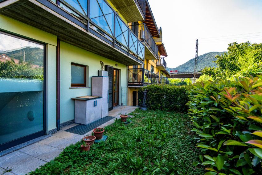 giardino bilocale in vendita a bergamo