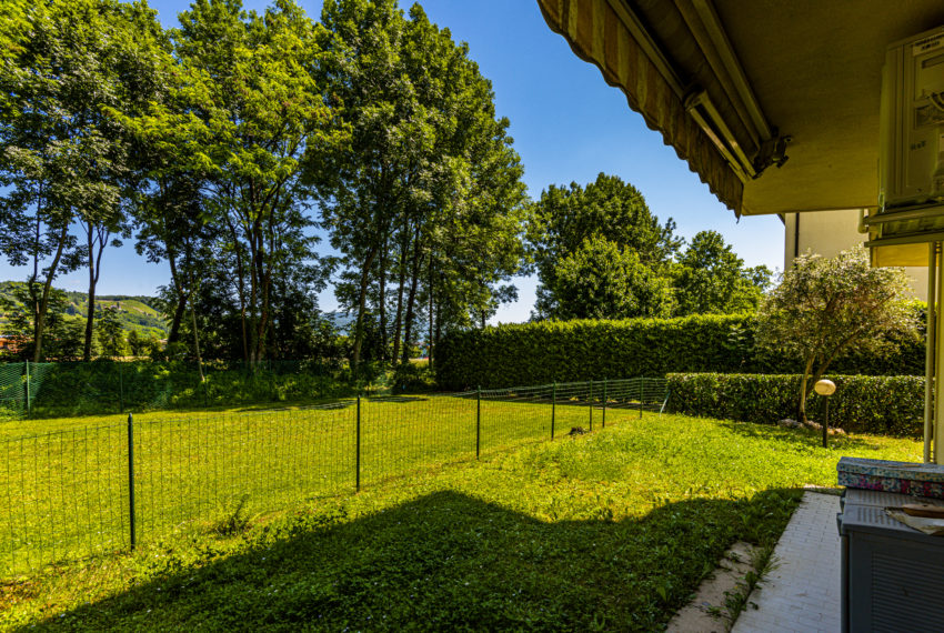 giardino privato casa pedrengo